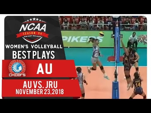 NCAA 94 WV: Sarah Verutiao, Amaina Donato connect for vicious quick! | AU | Best Plays