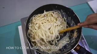 Tuna Cream Spaghetti Recipe - Quick n Easy Pasta