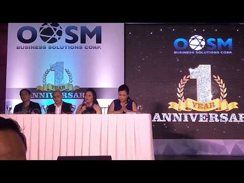 OOSM Business Solutions 1st Year Press Conference