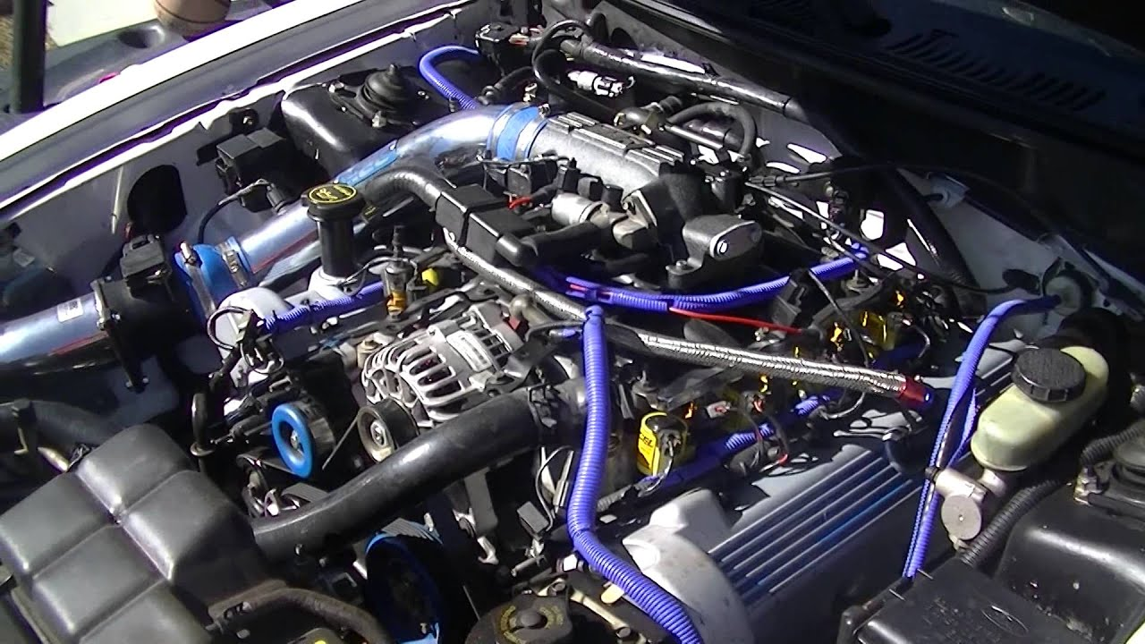 2001 Mustang Gt Stage 2 Cams Heads Open Headers Youtube
