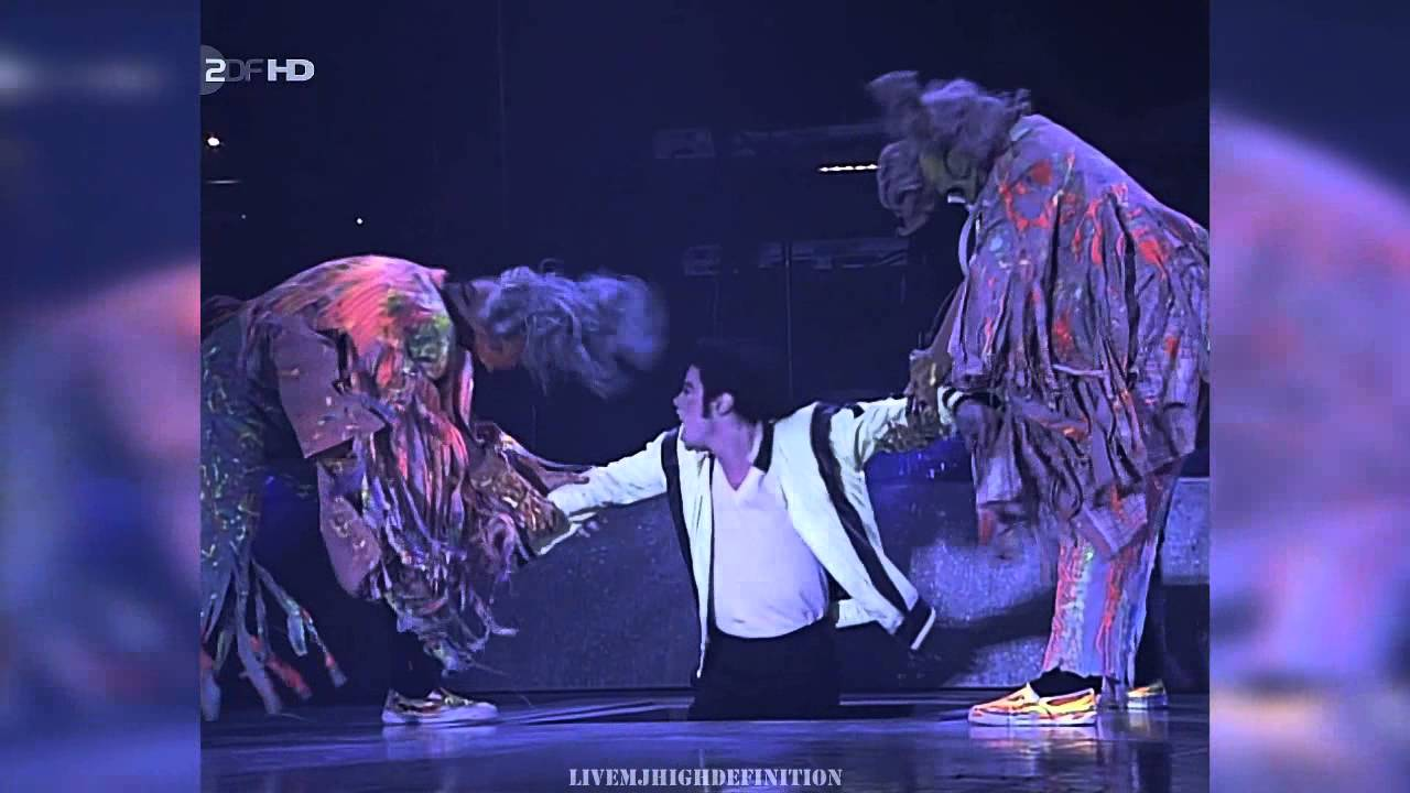 Michael Jackson Thriller Live Munich 1997 Hd Youtube