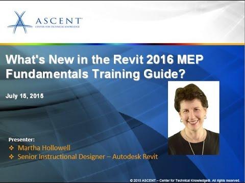 overview of ascent s revit 2016 mep fundamentals guide youtube rh youtube com Revit Architecture Training Revit Architecture Training