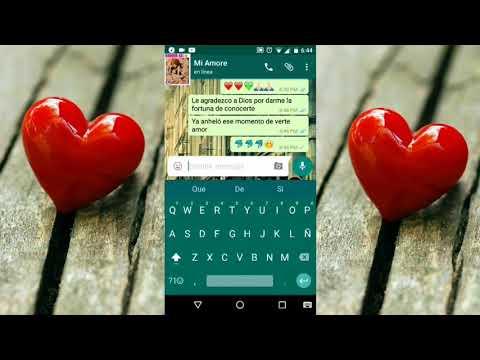 Enamora Más A Tu Novia Con Esta Conversación Por (Whatsapp) HD