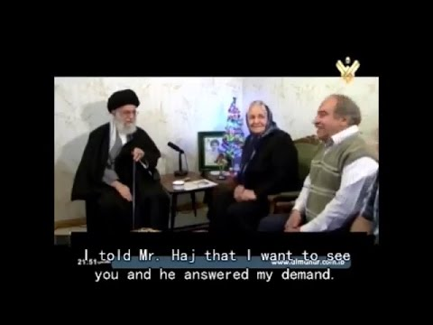 Visit to Family of Christian Martyr by Leader Khamenei on Christmas eve