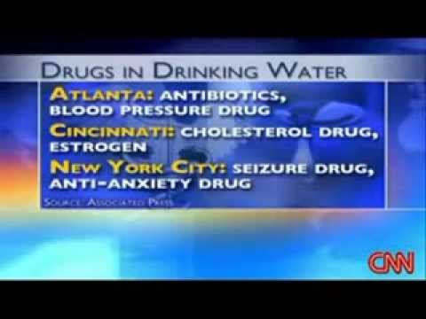 Pharmaceutical Drugs in your Drinking Water?