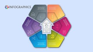 Illustrator CC Tutorial | Graphic Design | Vector Infographics 09