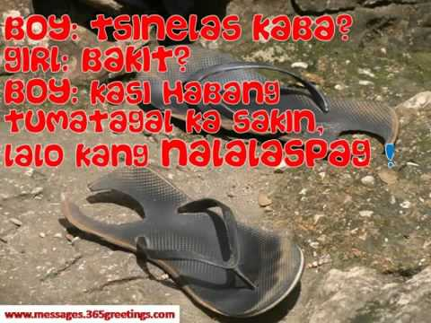 Pick Up Lines for Girls Tagalog - YouTube