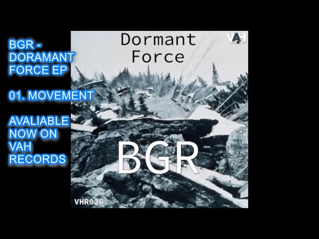 BGR - MOVEMENT - HOUSE - TECHNO