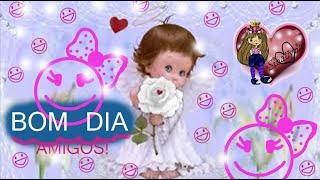 Mensagem de Bom Dia: Seja feliz!  Good Day message