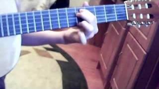 Урывок из известной песни Deep Purple - Smoke On The Water ( разбор )