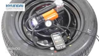 Тест автомобильного компрессора Daewoo DW 70L смотреть