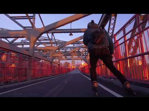 Through New York City On Twister Edge Skates