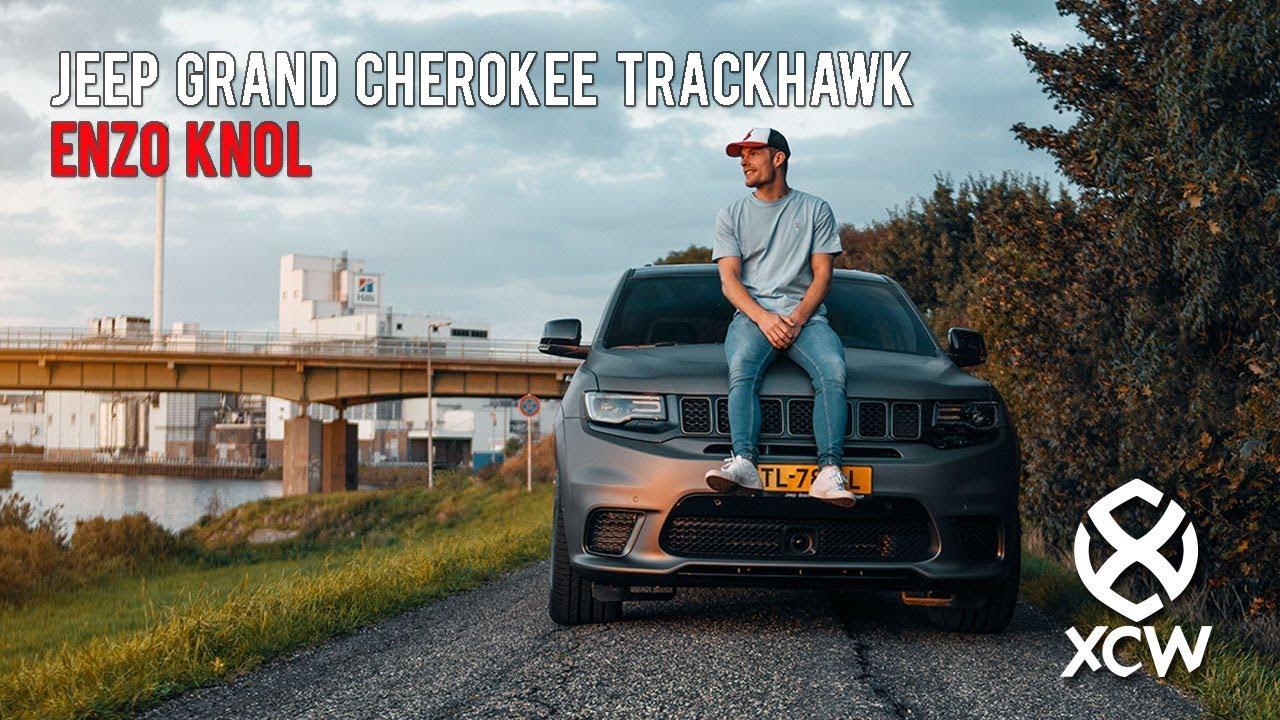 2018 Jeep Grand Cherokee Trackhawk >> ENZO KNOL ZIJN NIEUWE JEEP GRAND CHEROKEE TRACKHAWK WRAP! - YouTube