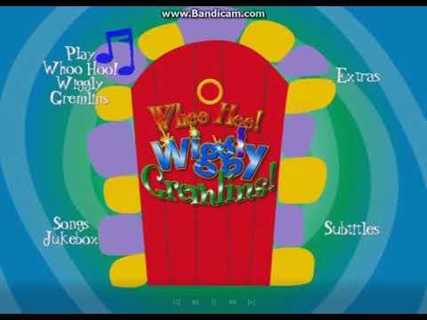 The Wiggles Whoo Hoo Wiggly Gremlins DVD Menus Video