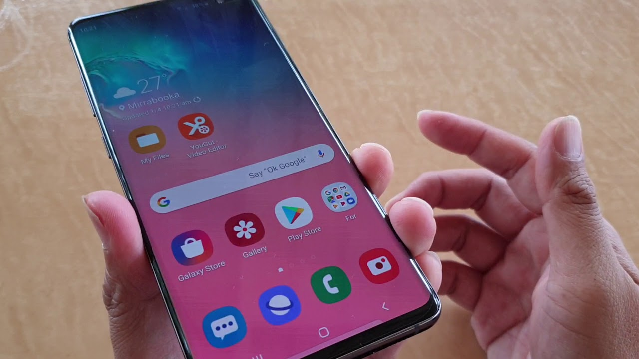 Samsung Galaxy S10 / S10+: How to Enhance Sound (Music / Video / Game)