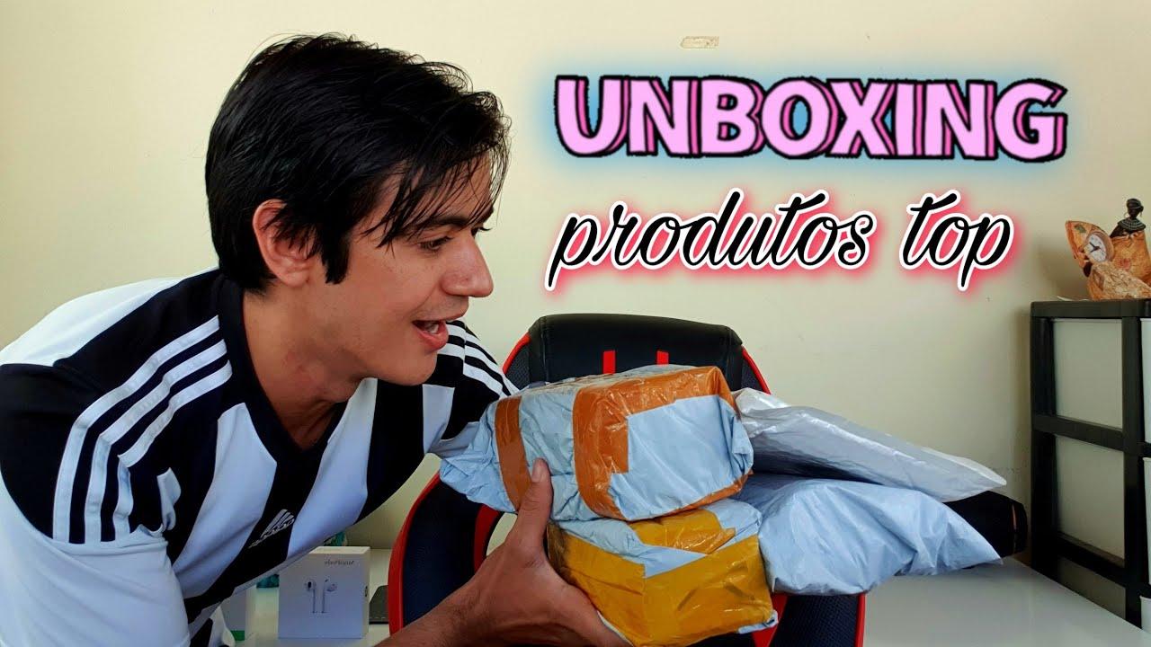 Unboxing inédito | abrindo 4 pacotes do aliexpress ( China é vida )