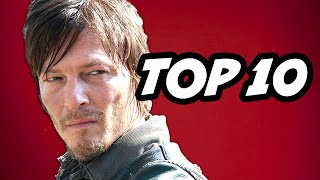 Walking Dead Season 6 - TOP 10 Daryl Dixon Facts