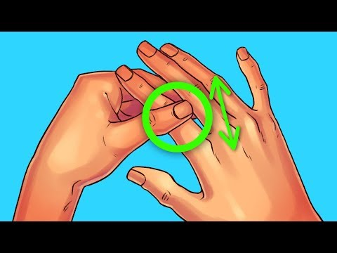 Rub Your Index Finger for 60 Seconds, See What Happens to You