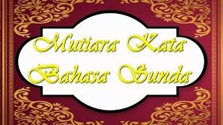 MUTIARA HIKMAH Bahasa Sunda