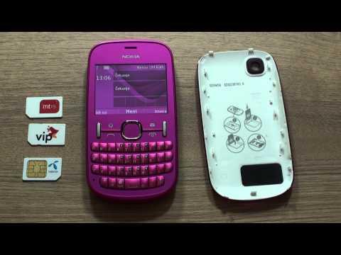 Nokia Asha 201 dekodiranje pomoću koda