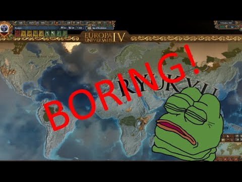 EU4: Why I don't world conquest |