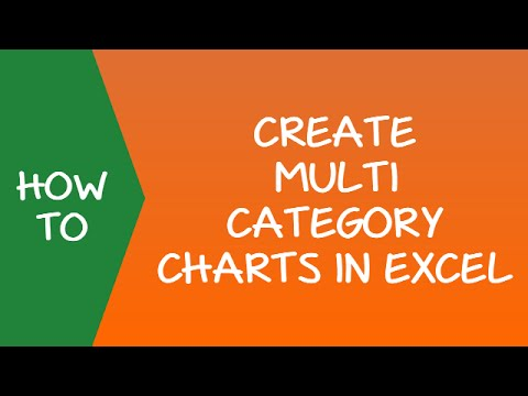 Creating Multi category Charts in Excel