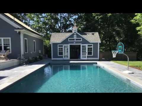 SSG Gunite Pool Time Lapse Project in Lexington, MA