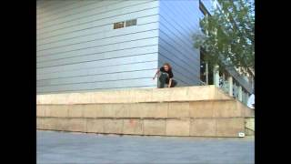 Skateboarding: 180 Boneless slam at MACBA 3