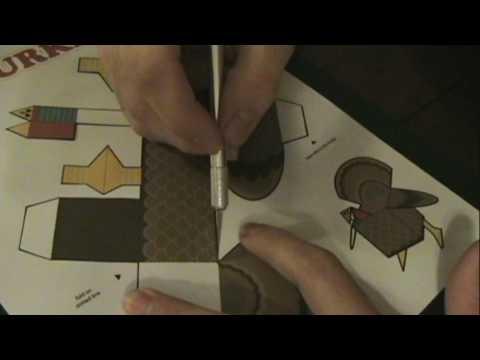 DIY Papercraft Turkey