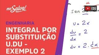 Me Salva! INT11 - Exemplo 2: Integral por substituição u.du
