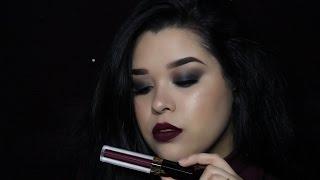 Black Smokey Eye   Makeup Look   Lessly Toscano