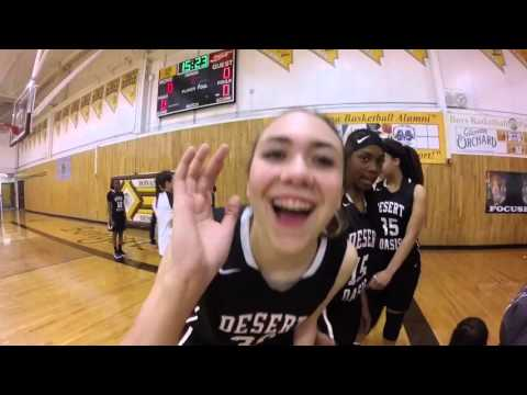 Desert Oasis High School Girls Basketball vs Bonanza 2.1.16