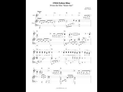 I Will Follow Him from Sister Act (Transcribed and Arranged by Aldy Santos)