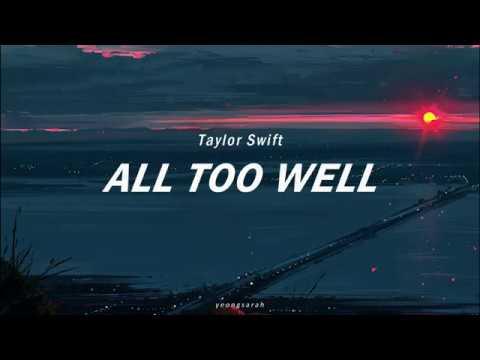 Taylor Swift Long Live Full With Lyrics Youtube