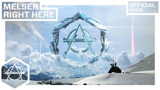 Melsen - Right Here (Official Audio)