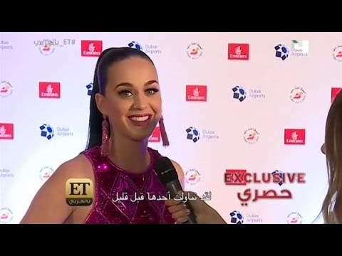 Katy Perry Interwiew for E.T. In Dubai (2015 | New)