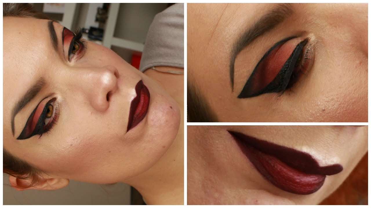 maquillage yeux papillon