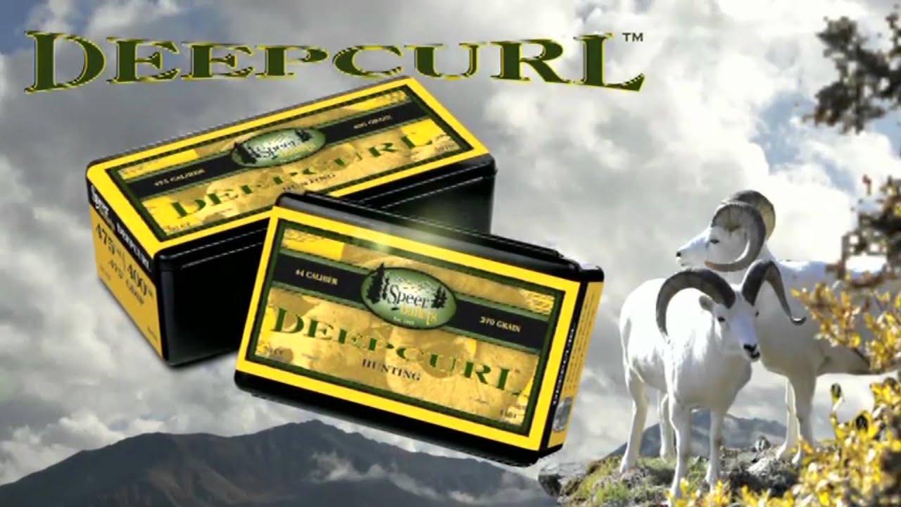 Product Overview: Speer® DeepCurl Bullets