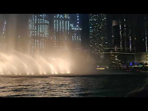 Fountain Show | The Dubai Fountain | Burj Khalifa | Dubai | UAE | October 2019