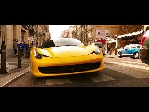 Такси гонится за Ferrari.  Такси 5 (2018)
