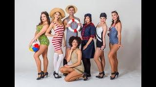 Módní přehlídka plavek / Retro swimwear fashion show