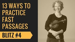 Violin Fast Passages Tutorial #4 One String