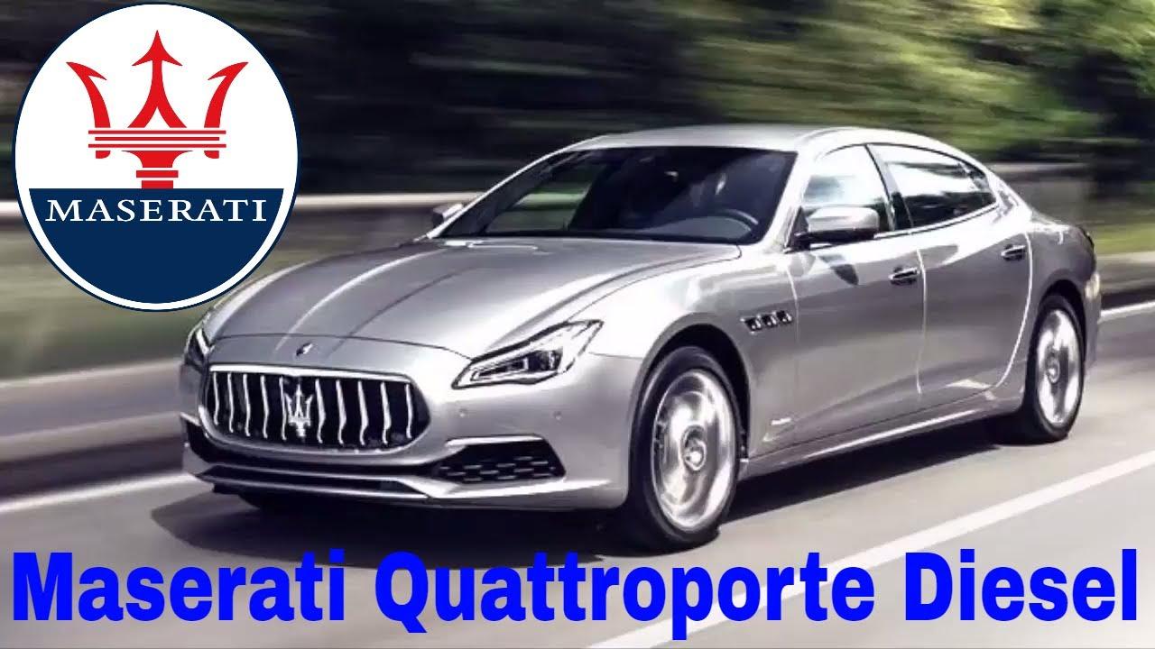2017 Maserati Quattroporte Diesel: Reviews | Engine | Safty | Price - YouTube