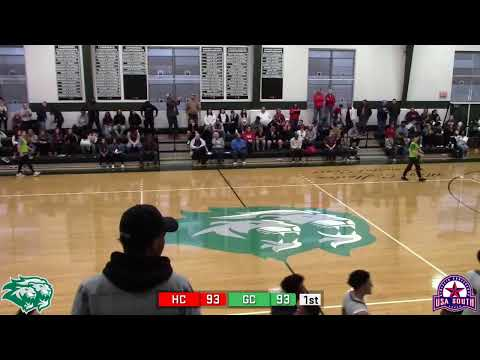 Men's Basketball: Greensboro College vs. Huntingdon College