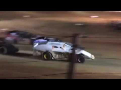 35 Raceway 6-10-2017 Modified Feature - Keith Bills wins Matt Holcomb 2nd