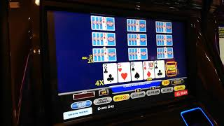 Ultimate x video poker bonus streak 10 play with high-stakes Danny