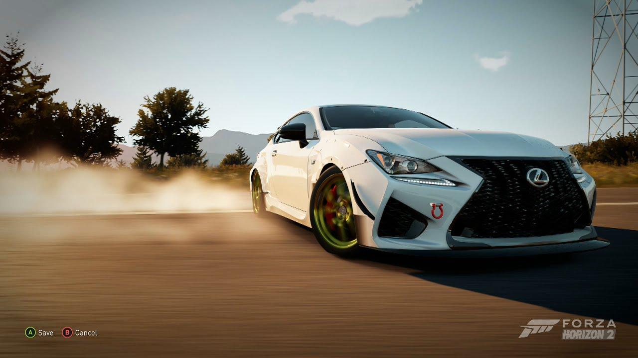 Forza Horizon Lexus Rc F Drift Montage Youtube