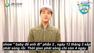 Baby let me go - Mã Thiên Vũ ( 马天于 )
