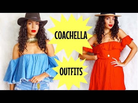 COACHELLA OUTFIT IDEAS | WHAT TO WEAR TO A MUSIC FESTIVAL