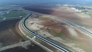 Nod rutier Turda si interchange A3-A10 -- 12 noiembrie 2017